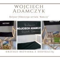 Wojciech Adamczyk Krzeslo rezysera