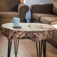 stol z plastra topoli